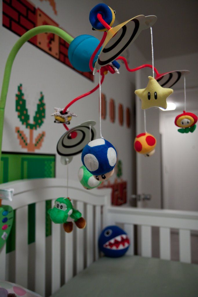 Super Mario nursery -this is more for Cris