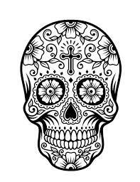 Ms de 25 ideas increbles sobre Dibujos sugar skull en Pinterest
