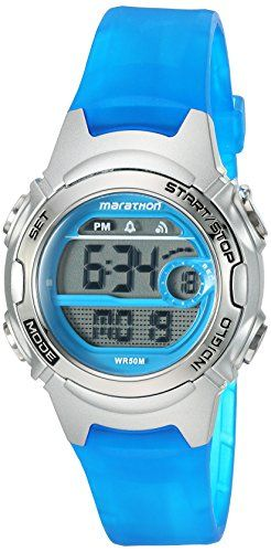 Timex Womens Marathon Quartz Resin Running Watch ColorBlue Model TW5K96900M6 -- Read more reviews of the product by visiting the link on the image. (This is an affiliate link) #Watches