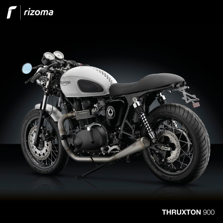 Rizoma Accessory Line for Triumph® Thruxton 900.