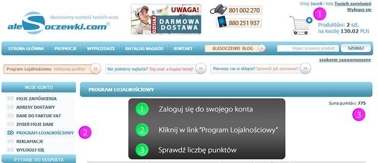 Katalog lojalnościowy alesoczewki.com