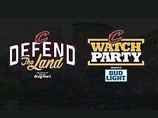 #tickets Cleveland Cavalier Cavs Watch Party Tickets 2 tickets Game 5 at the Q CLUB Level please retweet