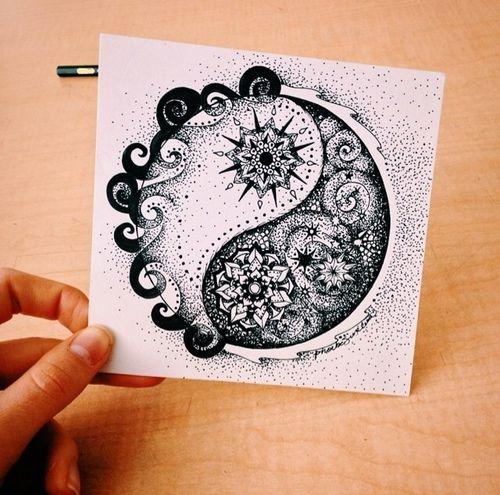 Картинка с тегом «beautiful and yin yang»