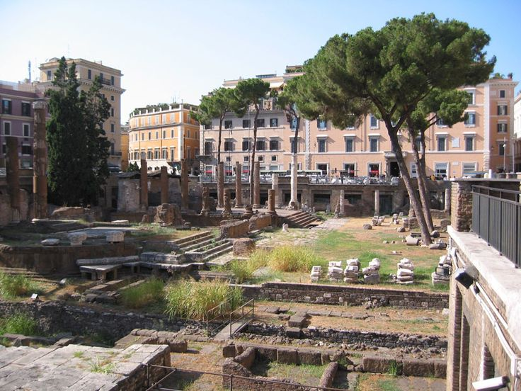 Roma. Largo di Torre Argentina