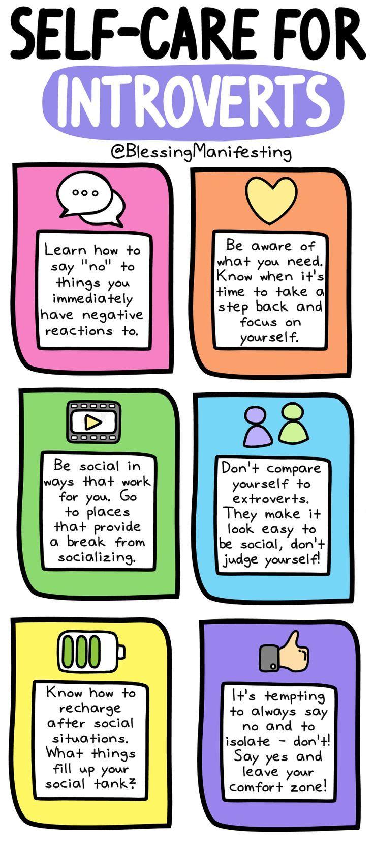Selbstpflege für Introvertierte: Wie laden Sie auf? – Segen manifestiert sich #introvertiert …   – Personal Development