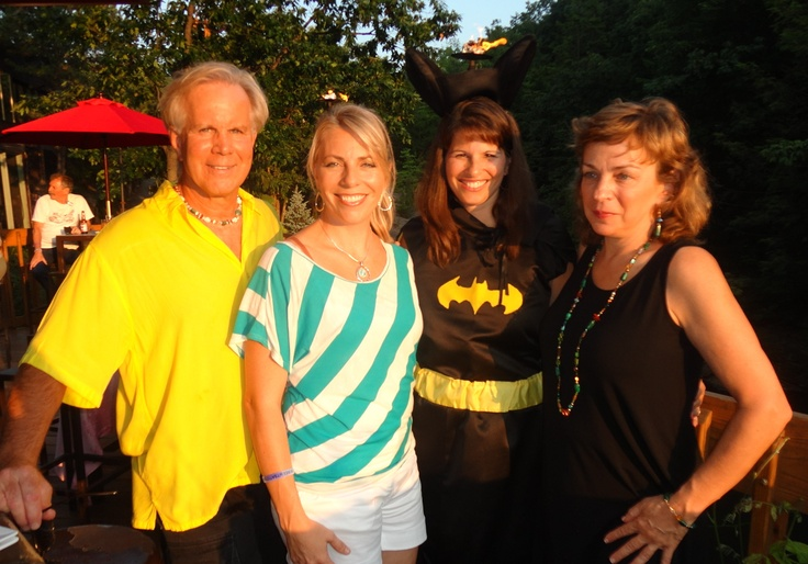 "Convention 2012 with BatGirl ""Terri"", Charlie and Cindy!"