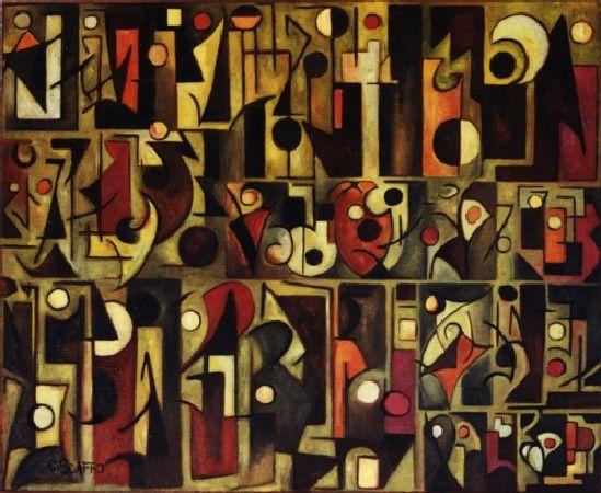 Obra De Arte >> Maria Cecilia Scaffo Dutra >> Jeroglífico V