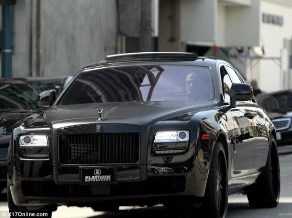 David Beckham S New Rolls Royce Ghost D A V I B E C K H M Cars