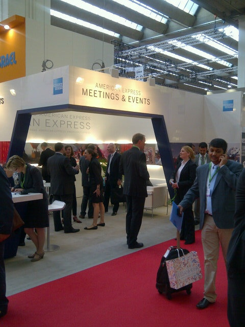 American Express Meetings & Events booth at IMEX Frankfurt, picture 2 of 2.