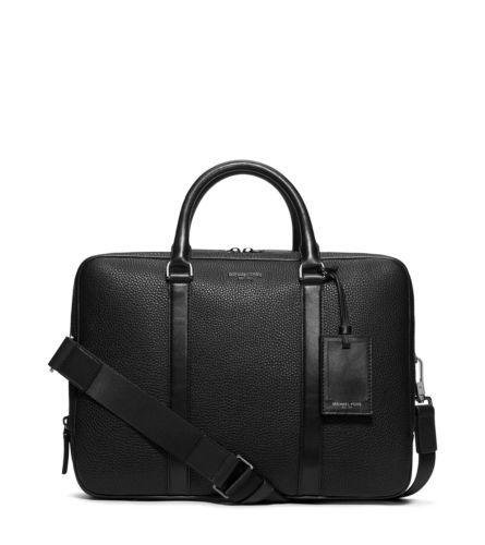 Bryant Large Leather Briefcase | Michael Kors