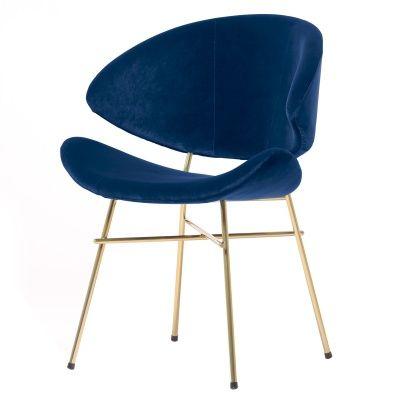 Krzesło Cheri Gold - granat