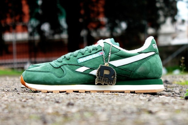 Reebok Classic Leather Vintage Suede Pack - Racing Green