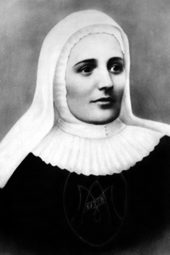 Blessed Mother Laura Montoya pictured in undated portrait  Blessed Mother Laura Montoya, the Colombian founder of the Congregation of the Missionary Sisters of Mary Immaculate and of St. Catherine of Siena, is pictured in an undated portrait. Mother Montoya, who died in 1949 after a career spent working with poor indigenous Colombians in difficult circumstances, will be canonized on May 12 and become the first Colombian saint. (CNS photo)