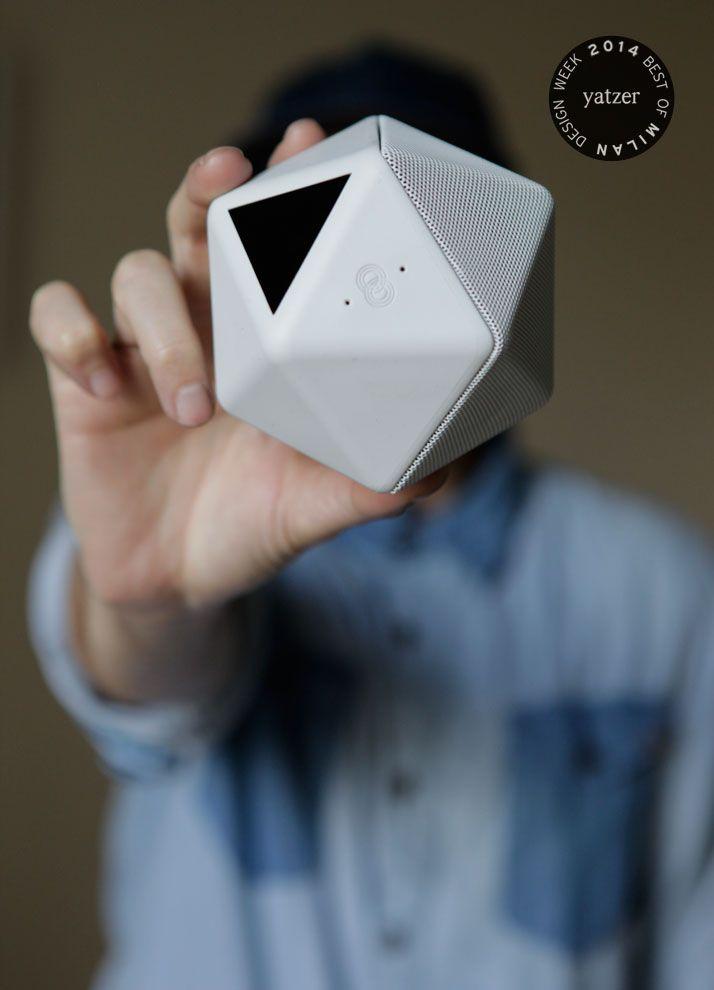 BOOM BOOM wireless audio speaker by Mathieu Lehanneur for Binauric. http://www.yatzer.com/best-of-milan-design-week-2014