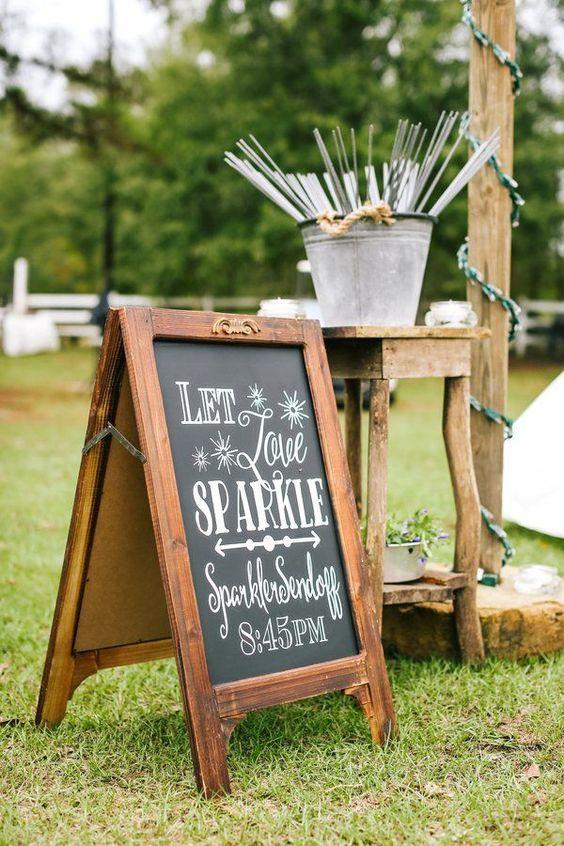 Country Rustic Alabama Barn Wedding Sign / http://www.deerpearlflowers.com/country-rustic-wedding-ideas/