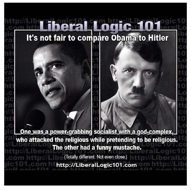 Obama Vs Hitler