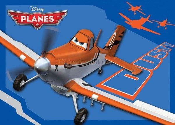 Speelkleed Dusty Disney Planes  Dit trendy speelkleed heeft een mooie afbeelding van Dusty uit de Disney Planes serie. Het kleed is hoogwaardig afgewerkt lekker zacht en laag polig. Het is duurzaam gemaakt en gemakkelijk te reinigen. Verder is het getest op schadelijke stoffen en anti-slip.  EUR 21.99  Meer informatie