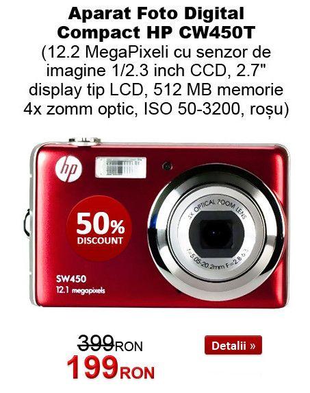 Camere foto digitale compacte si DSLR la promotie