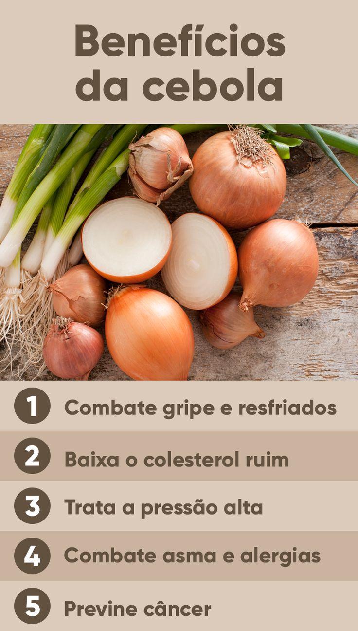 A cebola, um alimento popular que é usado como tempero na maior parte dos pratos, também é ótima para prevenir e a combater hipertensão e doenças relacionadas principalmente com circulação sanguínea e coração como colesterol ou triglicerídeos altos.