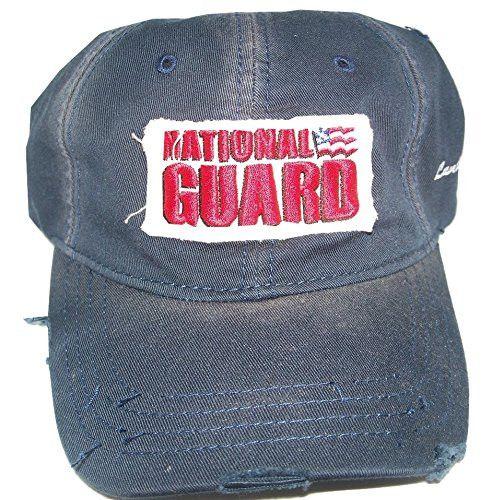 NATIONAL GUARD #5 NASCAR HAT