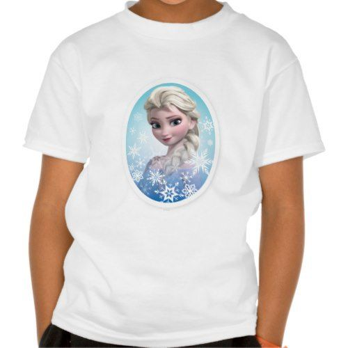 Elsa Snowlake Frame Tshirt