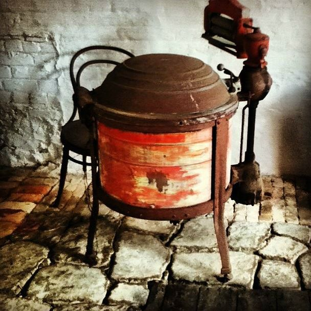 Old washing machine at Albany Gaol WA