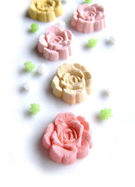 Rose Rakugan #japan