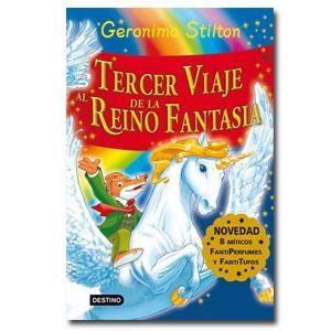 Es la tercera vez que Gerónimo Stilton pisa las tierras de el Reino de la Fantasía,con más aventuras que le esperan.