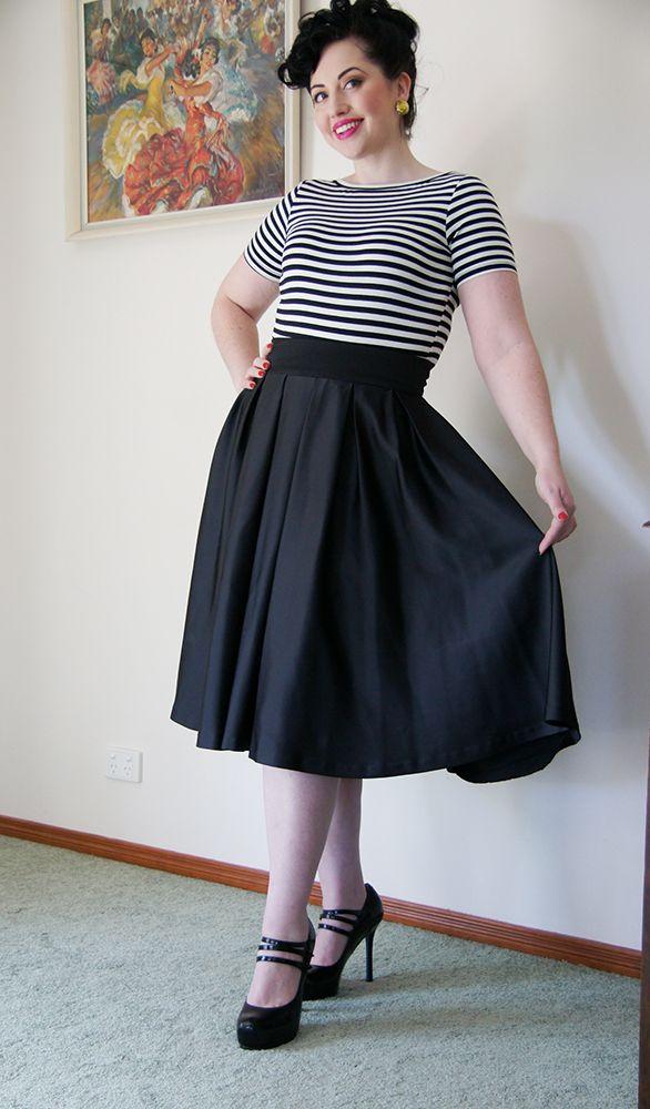 Peta Pledger 'Gabrielle' top in stripe - can be worn two ways.