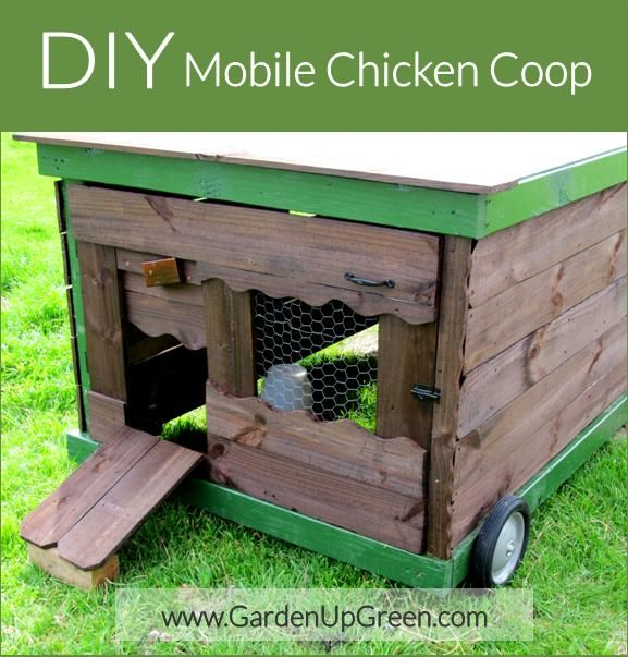 Best 20 mobile chicken coop ideas on pinterest chicken for Diy movable chicken coop
