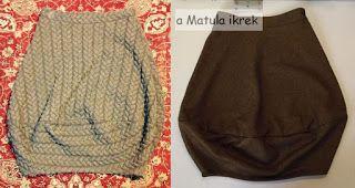 szoknya másolás - copycat skirt