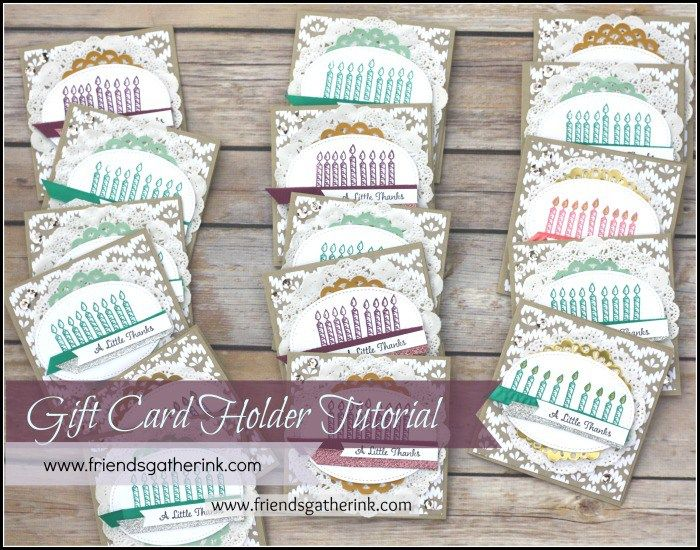 Tutorial - How to make a pocket card