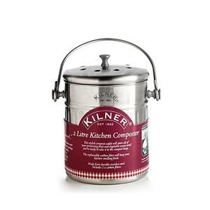 Cubo de Compostaje Casero 2 Litros Kilner #compostaje