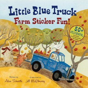 Little Blue Truck Farm Sticker Fun! I'm going to need to get this one, absolutely love these books