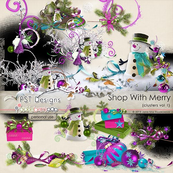 Shop With Merry clusters1 @Pickleberrypop  @PST Designs