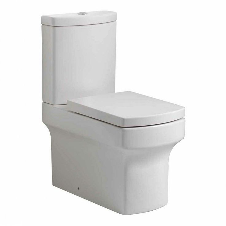 Vermont Close Coupled Toilet inc Soft Close Seat - en suite smaller toilet