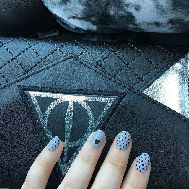 45 best incoco walmart images on pinterest walmart walmart how cute is heart and polka dot its love mani find this sweet gray nail art at select stores nationwide prinsesfo Gallery