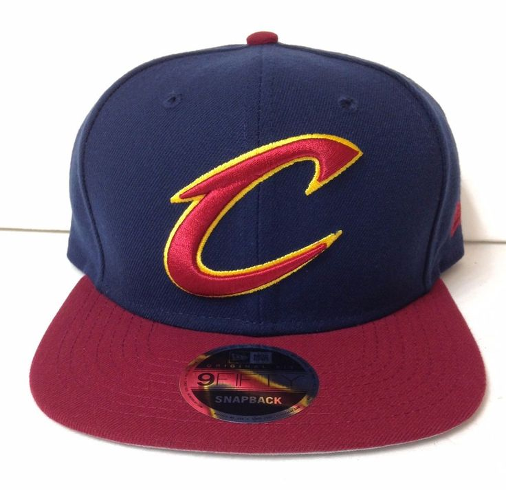 New$28 CLEVELAND CAVALIERS SNAPBACK HAT #NewEra #ClevelandCavaliers