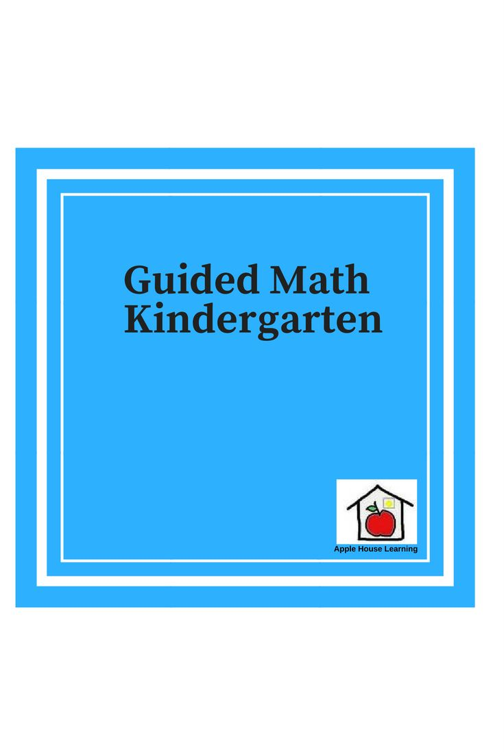 13 best Guided Math Kindergarten images on Pinterest | Guided math ...