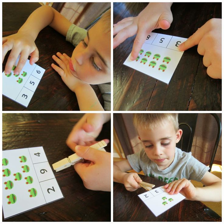 Yes  Relentlessly Fun, Deceptively Educational: Red-Eyed Tree Frog Count & Clip Cards