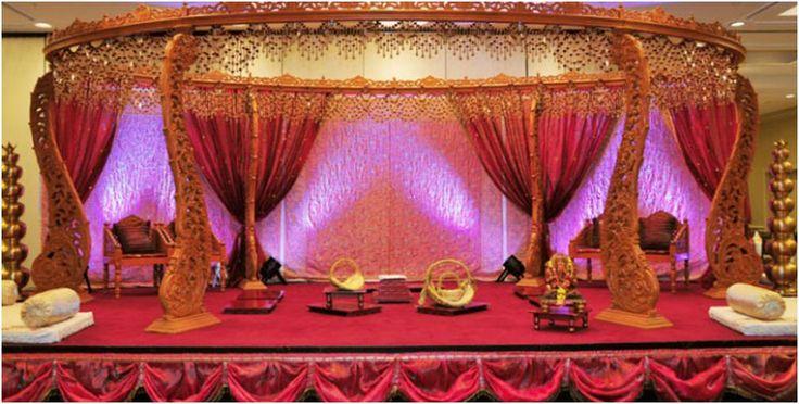 Beautiful #Asian #Wedding #mandap #Decoration Design