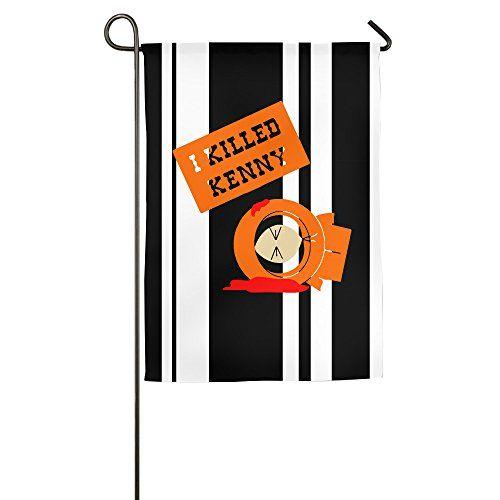 Spoof South Park I Killed Kenny Indoor Flag House Flag Fashion Garden Flag Outdoor Flag (2 Size) @ niftywarehouse.com #NiftyWarehouse #Geek #Gifts #Collectibles #Entertainment #Merch