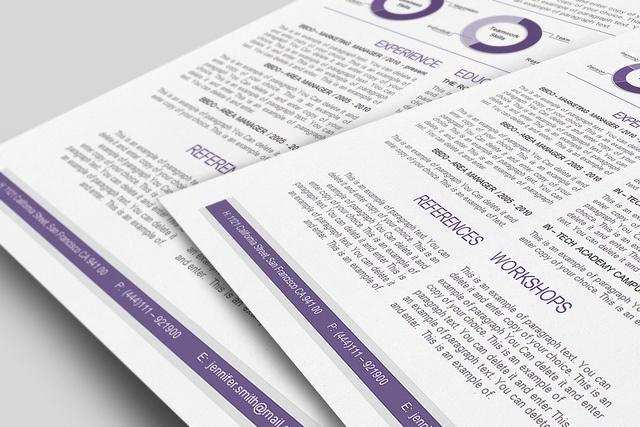 #CV Template,  #Resume Template -  by CVspecial, via Flickr