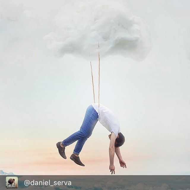 "Repost from the fab @daniel_serva  [256/365 ] ""Eyes Closed Wonderland"" - If they ask just say i'm in the clouds. - I'm always thinking weird things and get distracted VERY easily so i feel like i'm in the clouds a LOT. While i was growing up people made me think i shouldn't be like this like it was wrong and that made me feel bad. But now i think this is one of the things that made me the person i am today  so i don't feel ashamed for being different. We all should accept our peculiarities…"