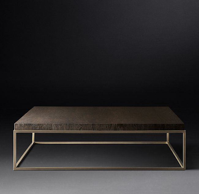 Nicholas Oak Square Coffee Table Modern Square Coffee Table