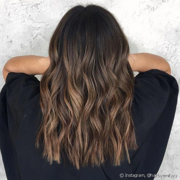 Caramel highlights can have a very subtle effect on the caramel bal ... ...  #caramel #effect #highlights #subtle