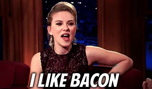 SJ LIKES BACON So who can hate her?