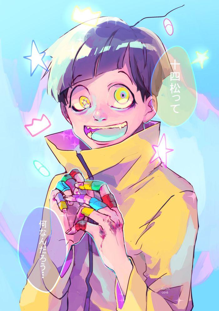 Jyushimatsu     Osomatsu-san Fan Art by dunatdan on Tumblr