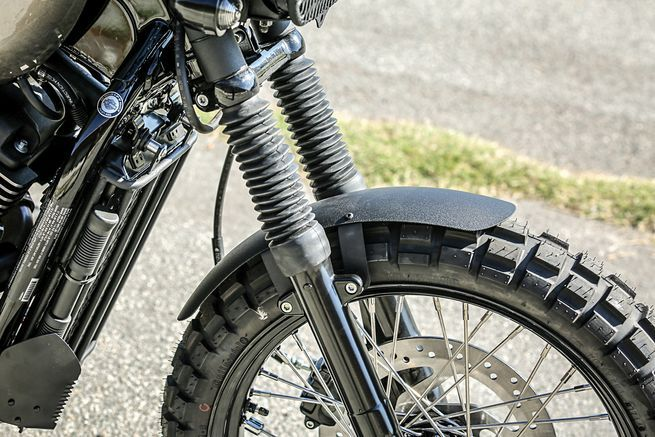 Front End- Progressive Suspension Spring Kit, Fork Boots - Twin Power