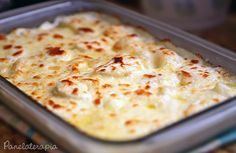 Batata Gratinada ao Creme de Queijo ~ PANELATERAPIA - Blog de Culinária, Gastronomia e Receitas